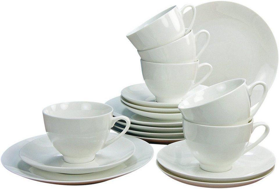 creatable kaffeeservice bone china porzellan 18 teile. Black Bedroom Furniture Sets. Home Design Ideas