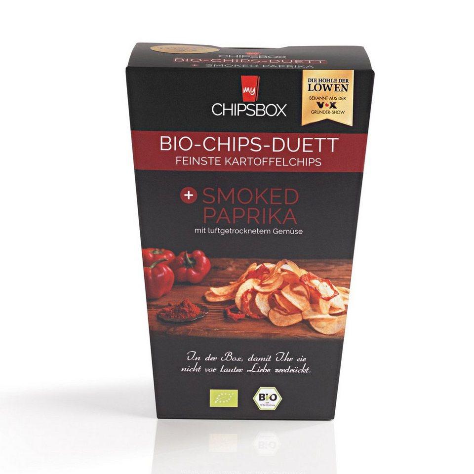 My Chipsbox Bio-Chips-Duett Smoked Paprika, 6er-Set je 90 g
