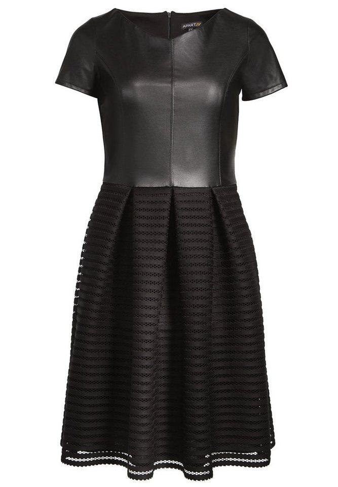Apart Kleid U-Boot in schwarz