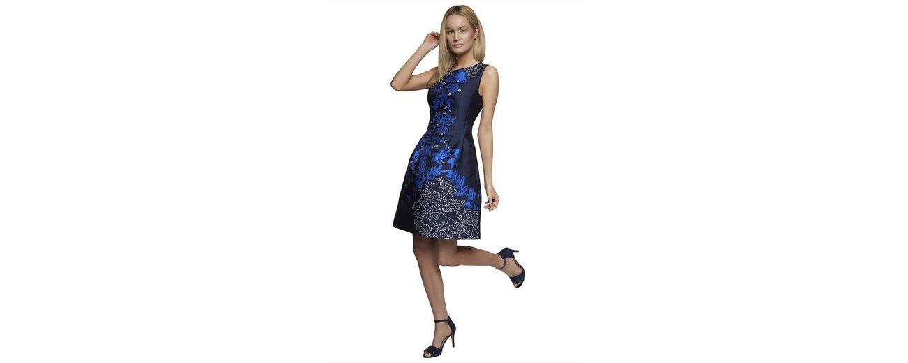 Apart Abendkleid mit Blumenmuster Rundhals Spielraum Mode-Stil Preiswerter Preis Fabrikverkauf tdh9GA