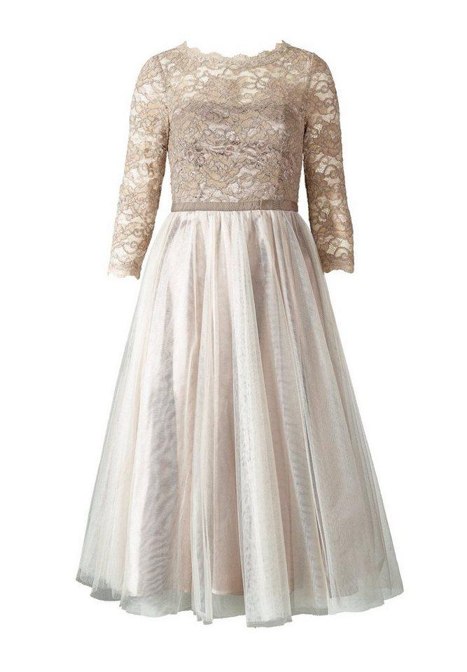a19836420441cb Apart Kleid Dreiviertelarm, Eingearbeiteter Petticoat online kaufen ...