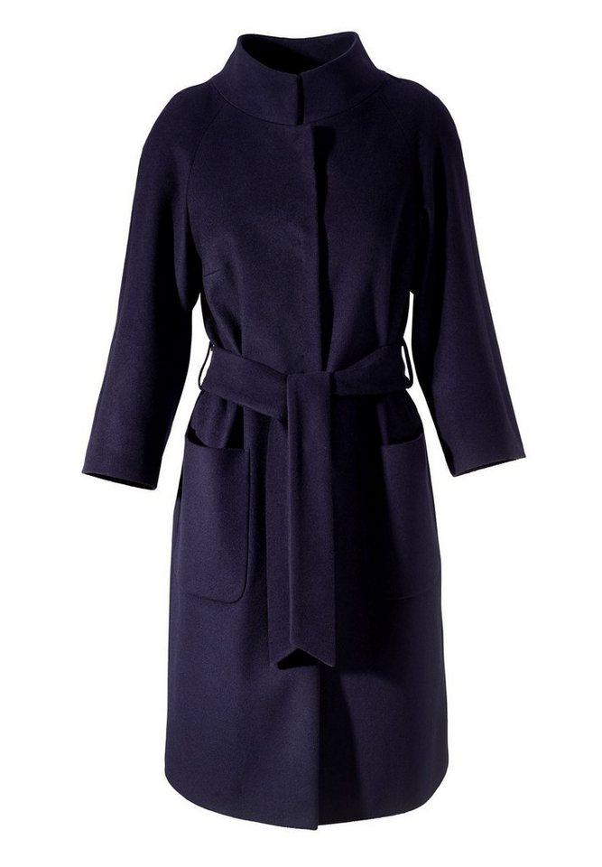 Apart Mantel Langarm in nachtblau