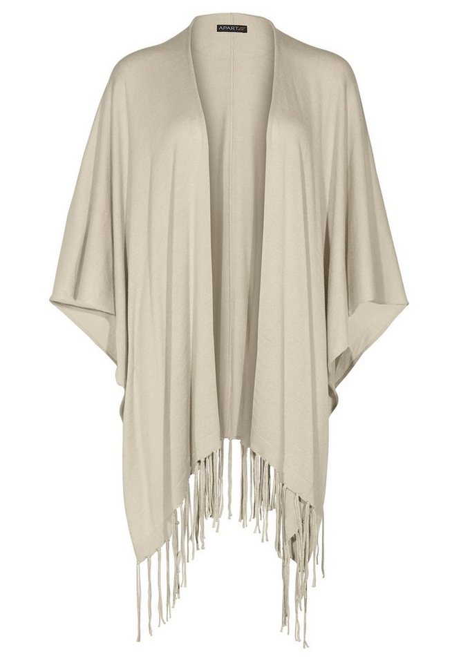 Apart Strickcape in beige