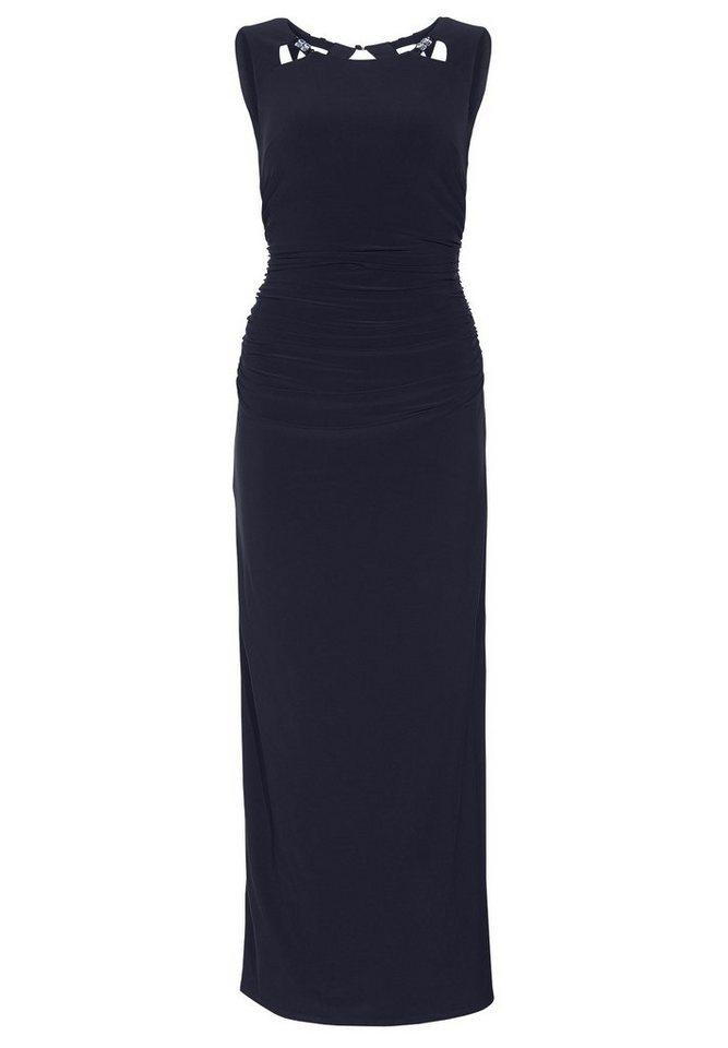 Apart Jerseykleid Ärmellos in nachtblau