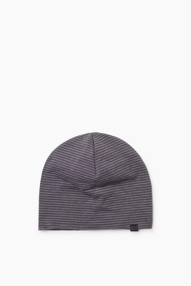EDC Jersey Mütze mit softer Innenseite in GREY