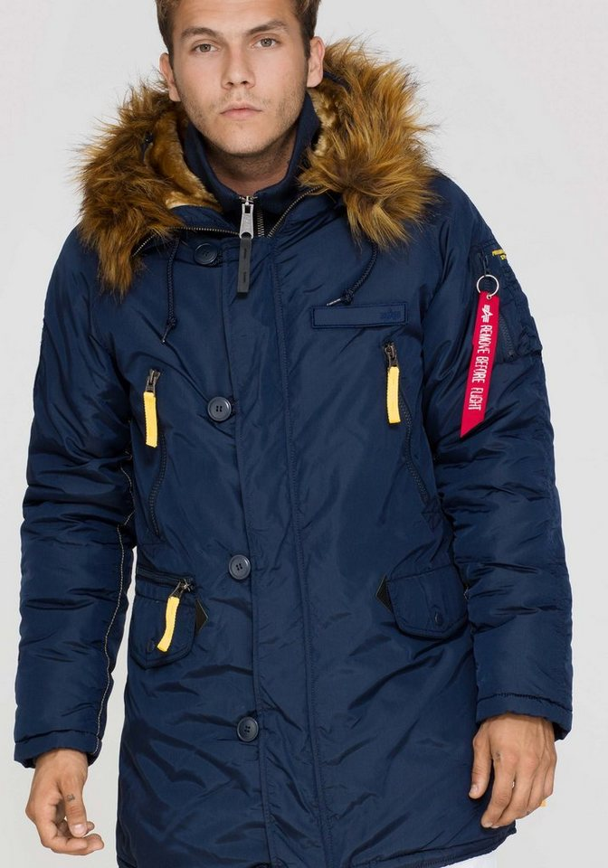 ALPHA INDUSTRIES Jacke »PPS N3B« in rep.blue