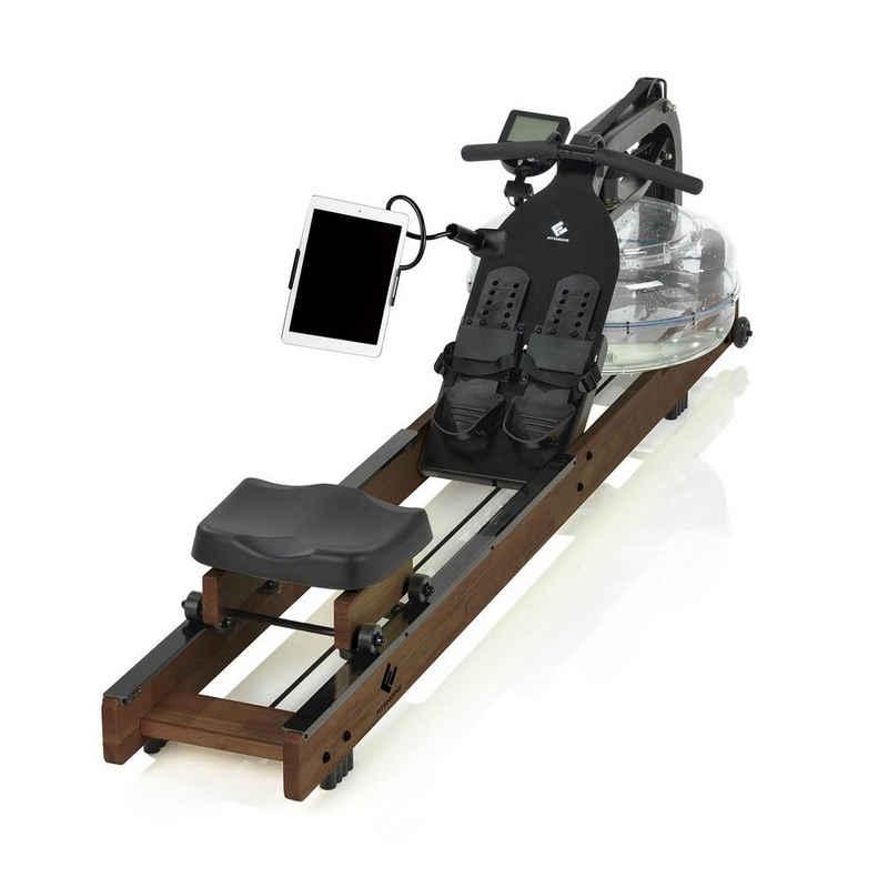 FitEngine Rudergerät »FitEngine Rudergerät dunkelbraun (Limited Edition) inkl. Wassertank«