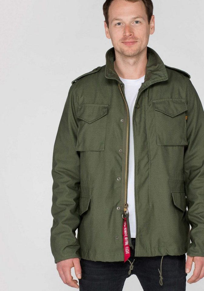 ALPHA INDUSTRIES Jacke »M-65 Heritage« in olive
