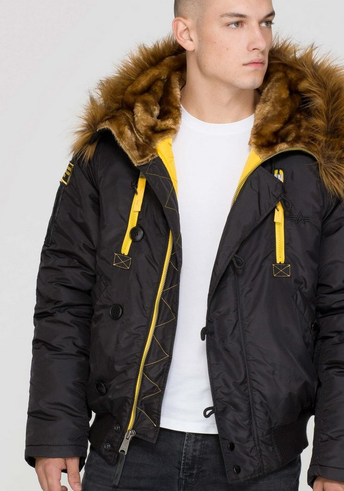 ALPHA INDUSTRIES Jacke »PPS N2B« in black