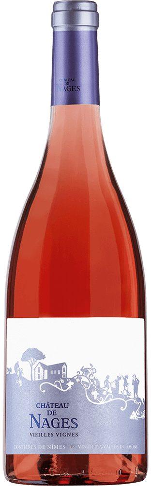 Roséwein aus Frankreich, 13,5 Vol.-%, 75,00 cl »2015 Château de Nages Rosé«