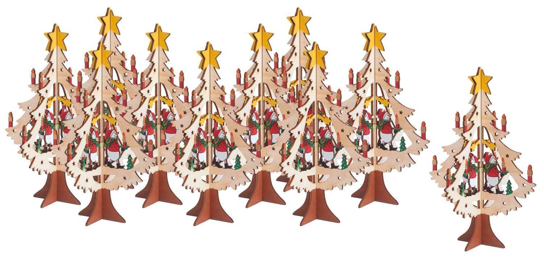 VBS 10 Tannenbäume, 2tlg., Großhandelspackung