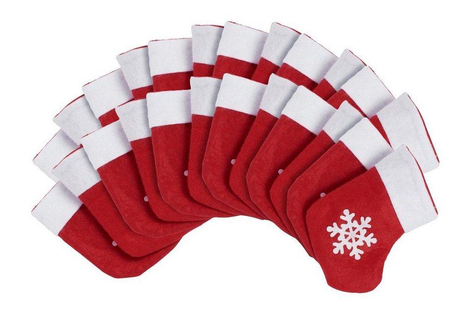 VBS Weihnachtsstiefel 24 Stück