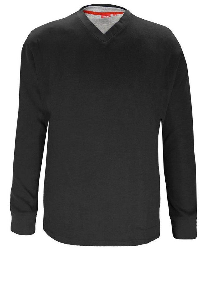 D555 Pullover in Schwarz