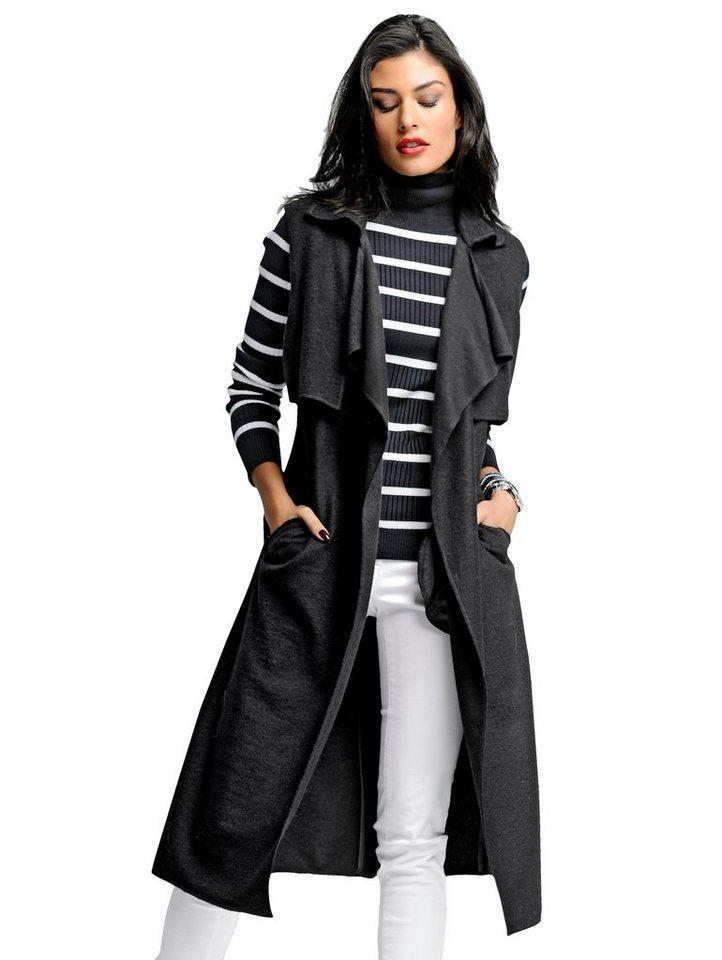 Alba Moda Weste in schwarz