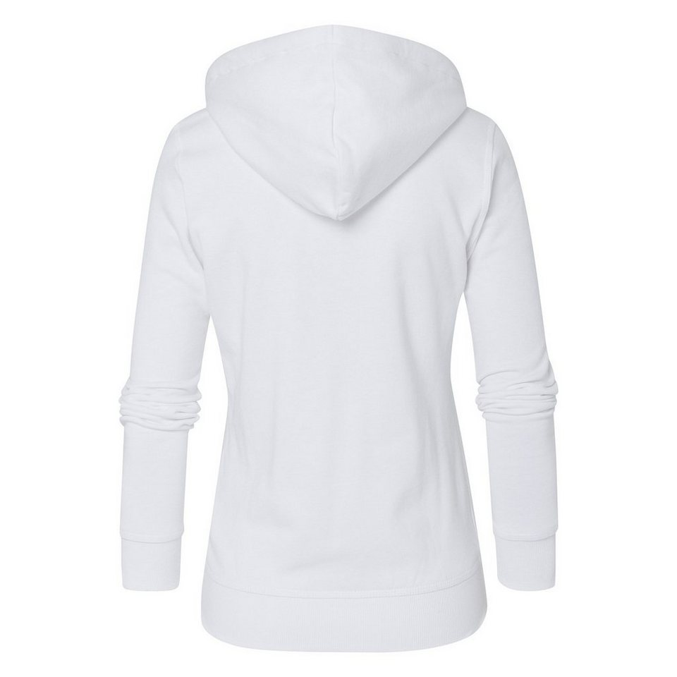 Gaastra Kapuzensweatjacke in weiß