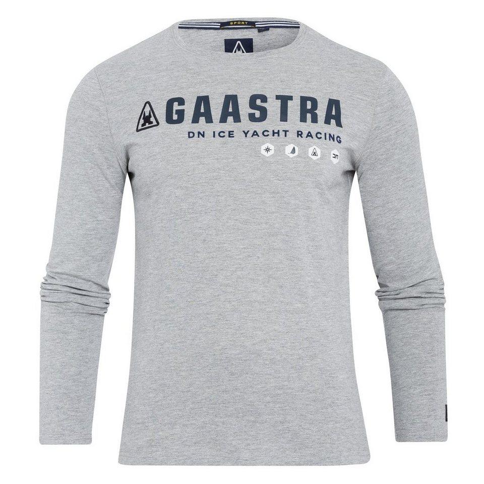 Gaastra Langarmshirt in grau