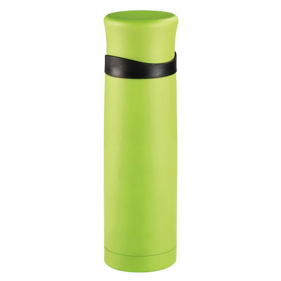 Xavax Isolierflasche mit Becher, doppelwandig, Edelstahl, 500 ml »Trinkflasche« in Grün