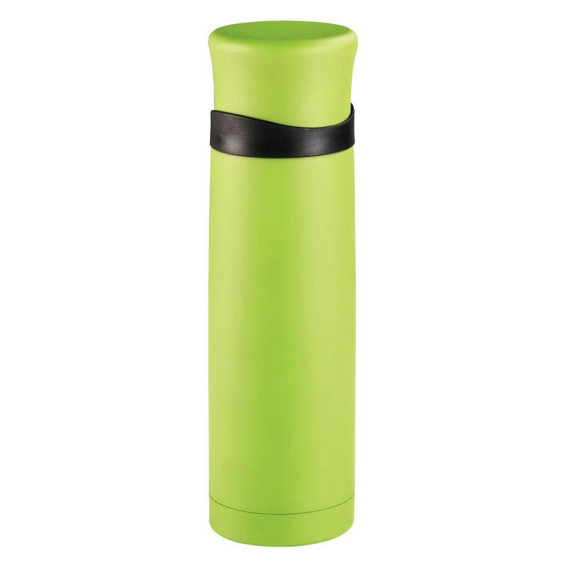 Xavax Isolierflasche mit Becher, doppelwandig, Edelstahl, 500 ml »Trinkflasche«