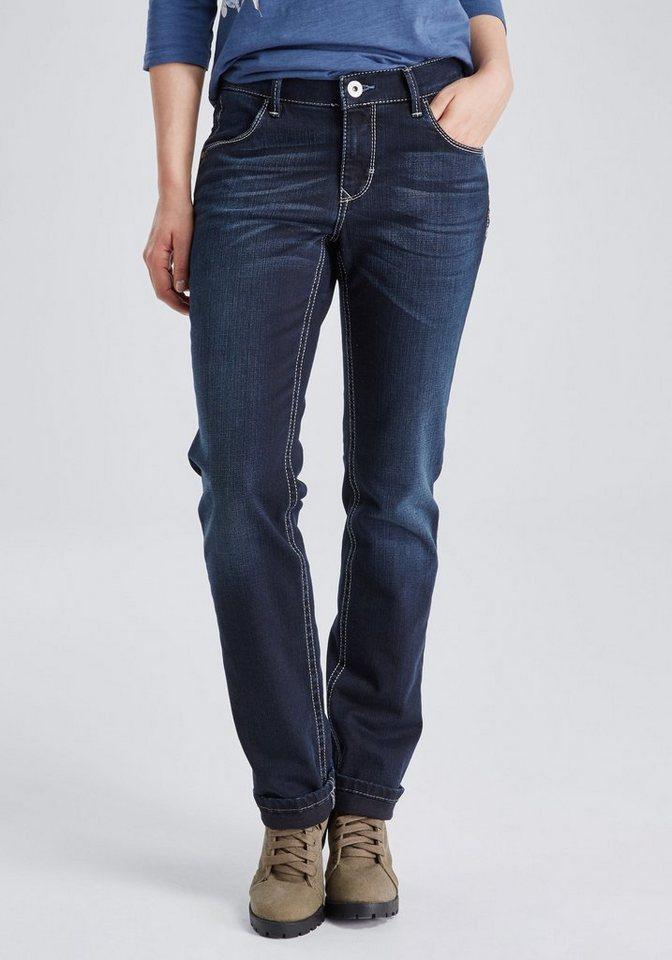 PIONEER Jeans »SALLY« in used denim