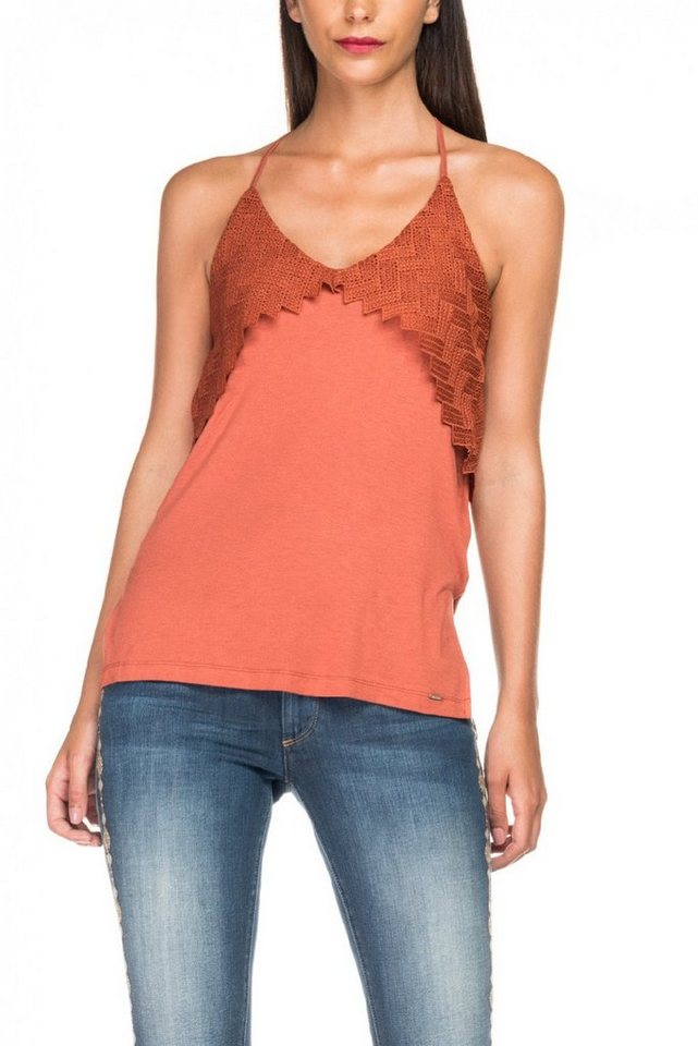 salsa jeans Top »CAINS« in Orange