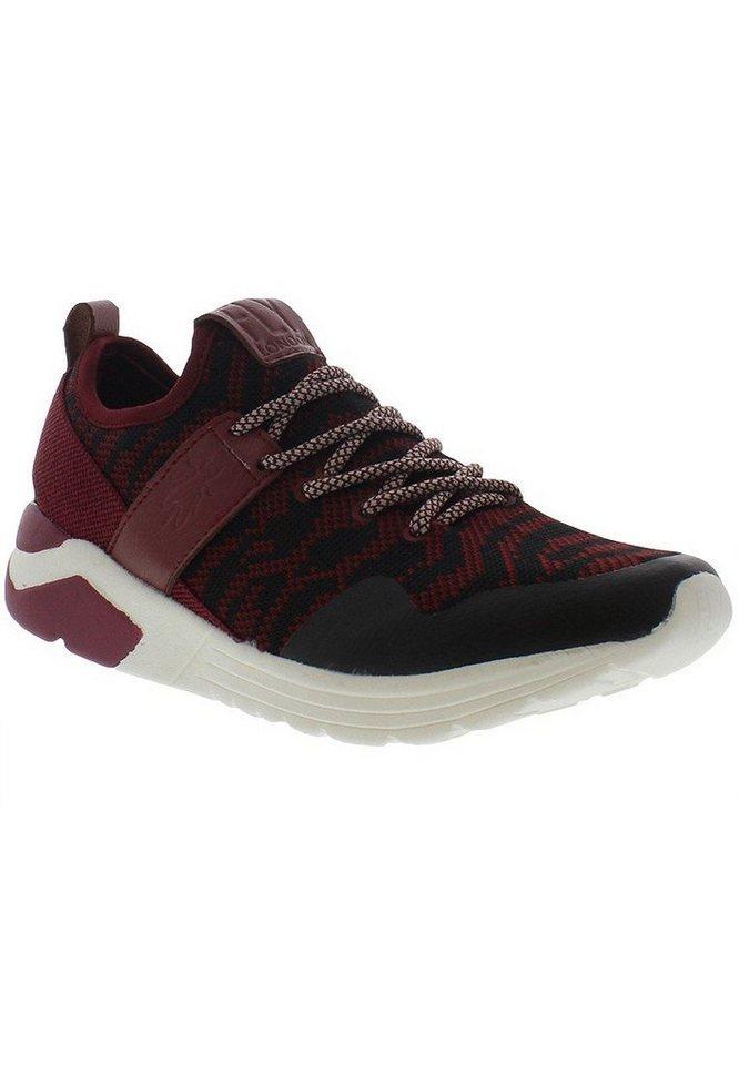 FLY LONDON Sneaker,Schnürschuhe »SALO825FLY« in rot