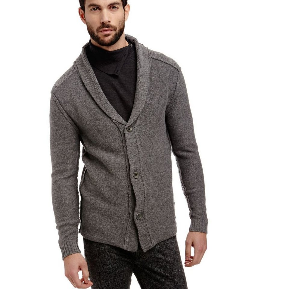 Guess CARDIGAN WOLLMIX in Grau