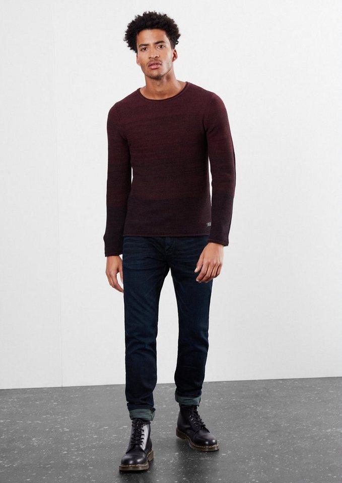 Q/S designed by Rick Slim: Dunkle Stretch-Jeans in denim