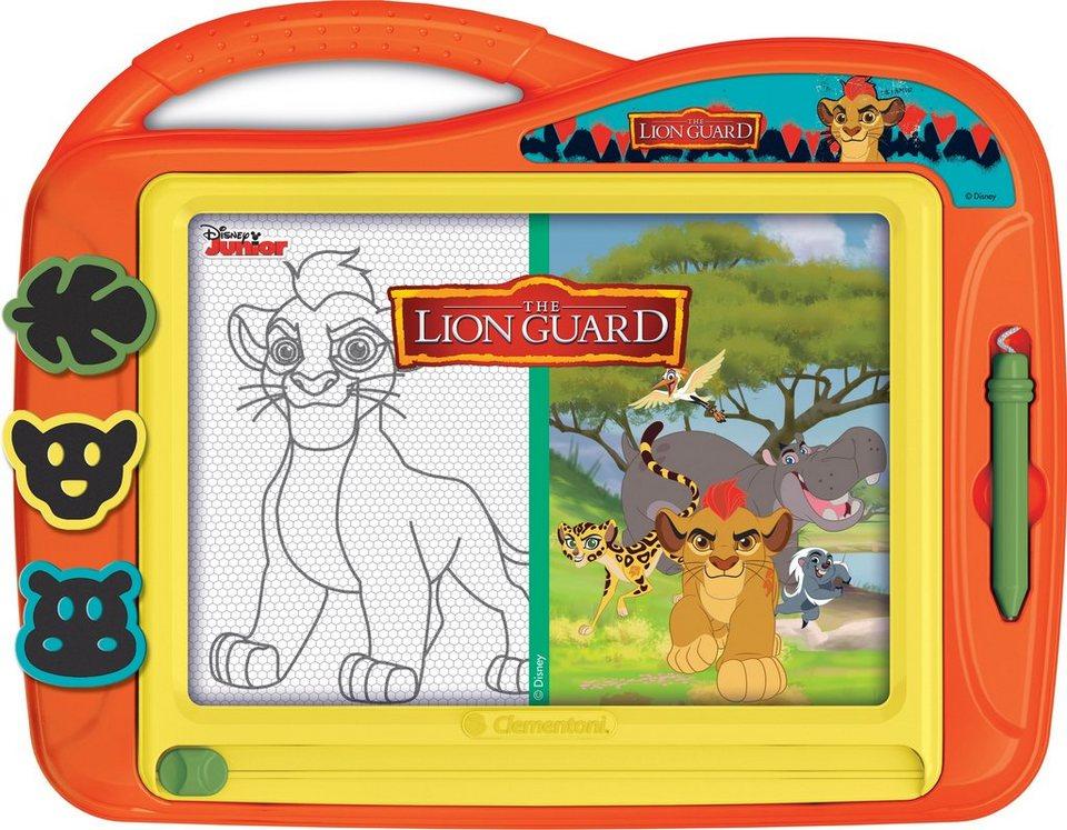 Clementoni Maltafel, »Disney Junior Die Garde der Löwen, Die Zaubertafel«