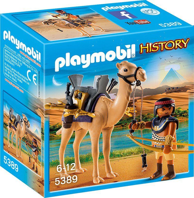 Playmobil® Ägyptischer Kamelkämpfer (5389), »History«