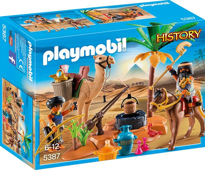 Playmobil® Grabräuber Lager (5387), »History«