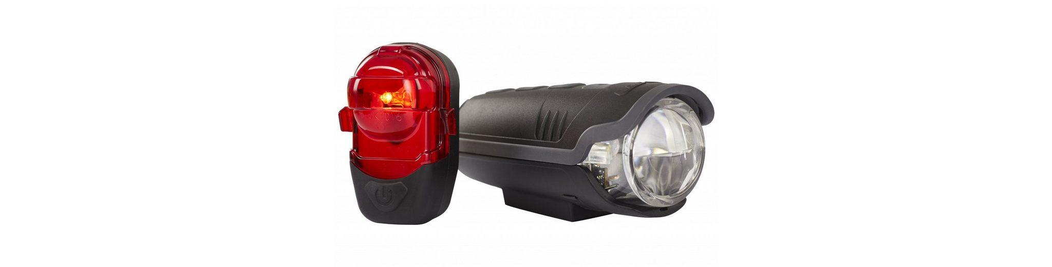 Busch + Müller Fahrradbeleuchtung »IXON Pure/IX-Post Beleuchtungsset«
