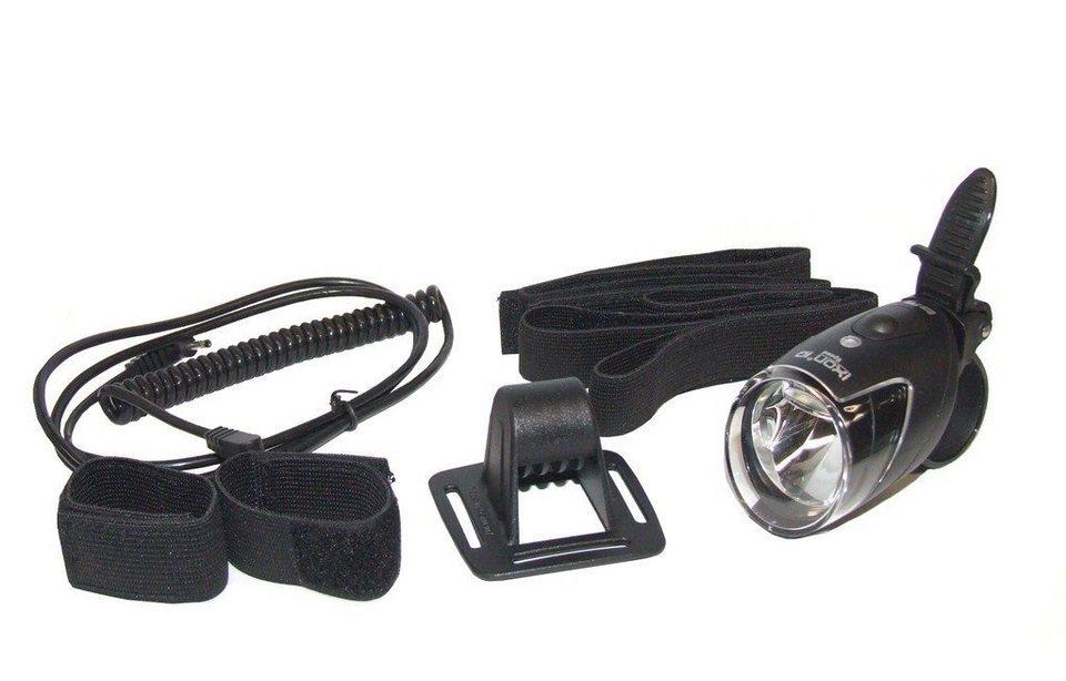 Busch + Müller Fahrradbeleuchtung »IXON IQ Speed Zweitscheinwerfer mit Helmhalter«