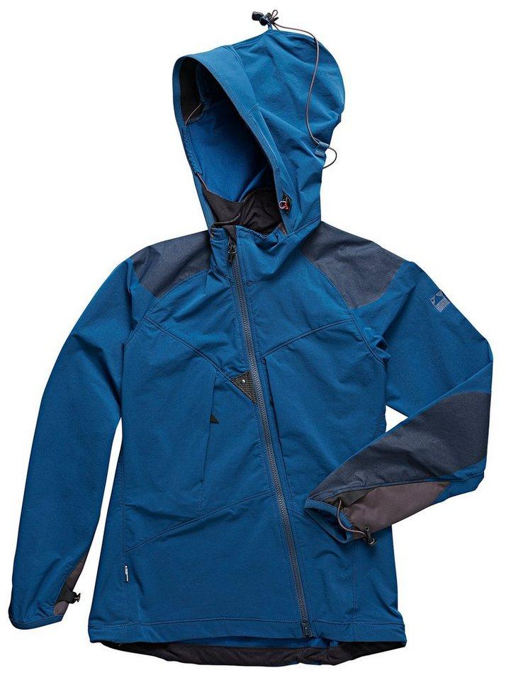 Klättermusen Softshelljacke »Frode Jacket Women« in blau
