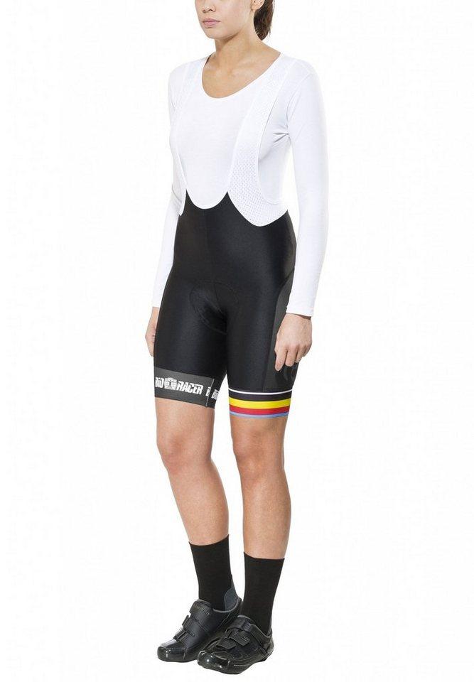 Bioracer Radhose »Van Vlaanderen Pro Race Bib Short Women« in schwarz