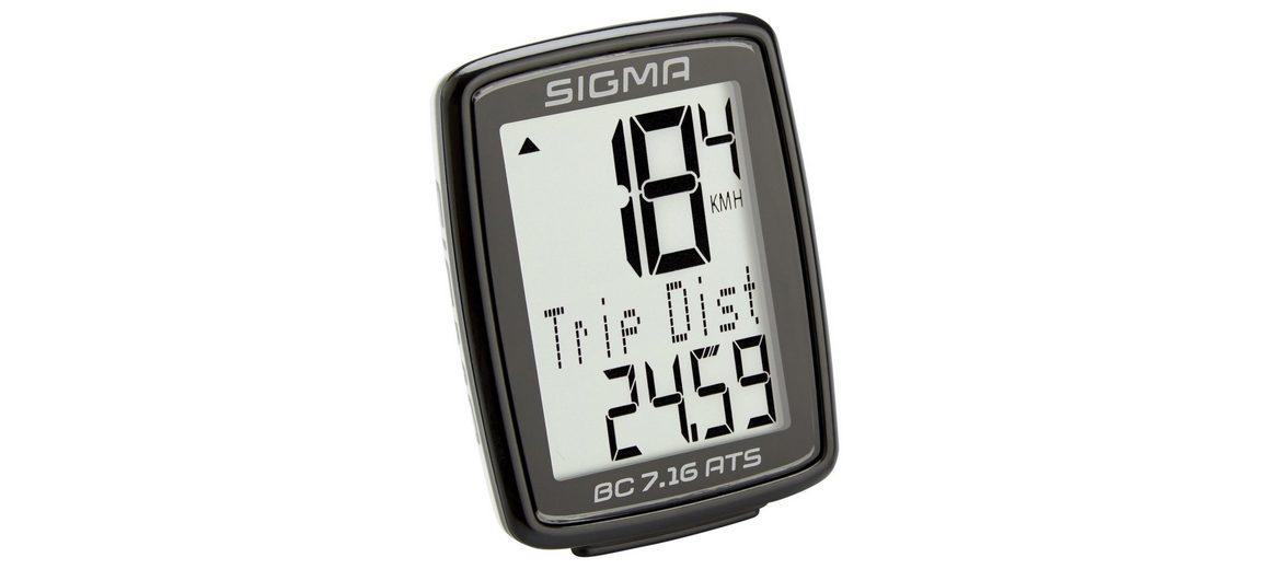 Sigma Sport Fahrradcomputer »BC 7.16 ATS Fahrradcomputer kabellos«