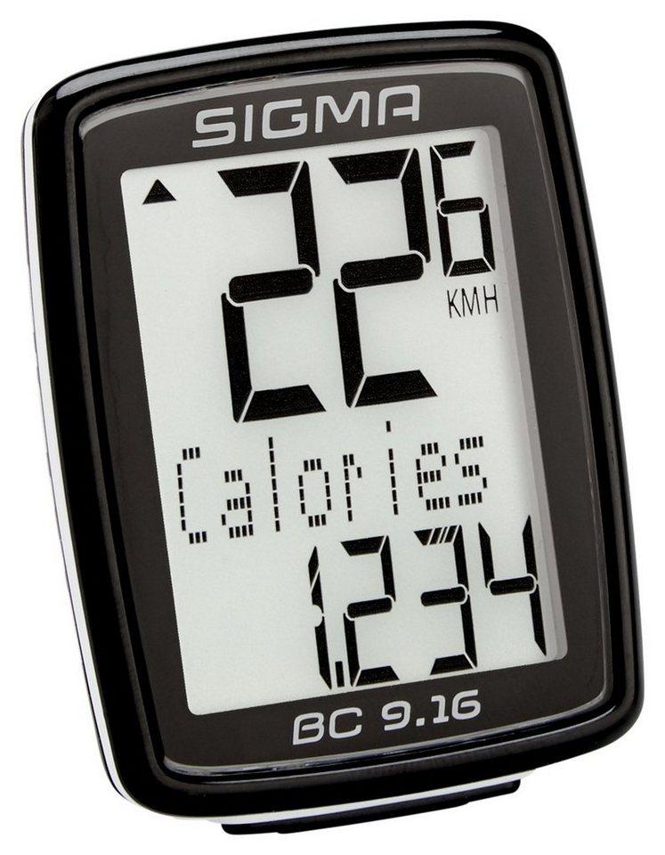 Sigma Sport Fahrradcomputer »BC 9.16 Fahrradcomputer kabelgebunden«