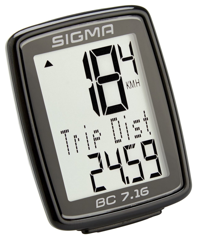 Sigma Sport Fahrradcomputer »BC 7.16 Fahrradcomputer kabelgebunden«