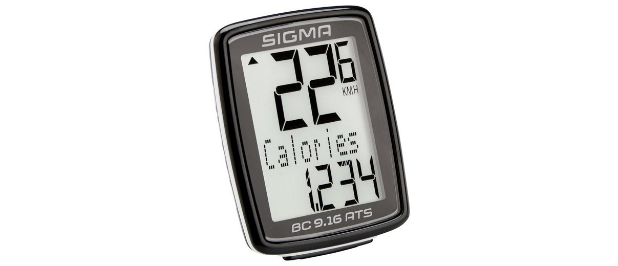 Sigma Sport Fahrradcomputer »BC 9.16 ATS Fahrradcomputer kabellos«
