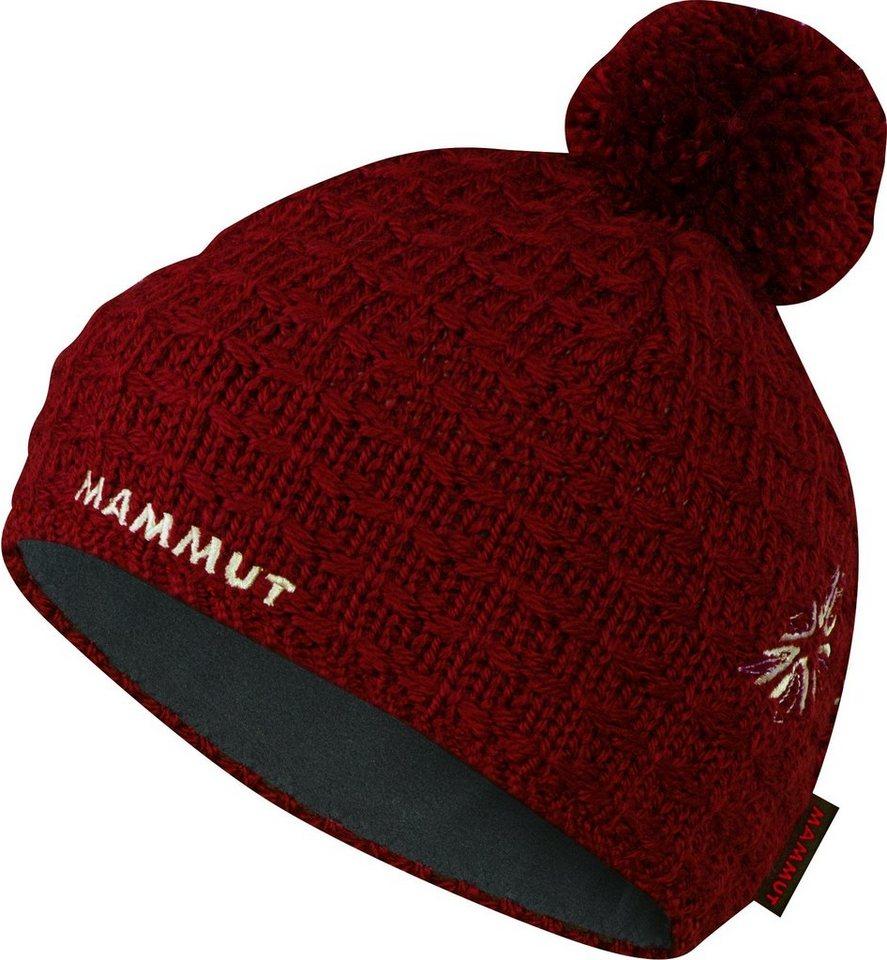 Mammut Hut »Pommel Beanie« in rot