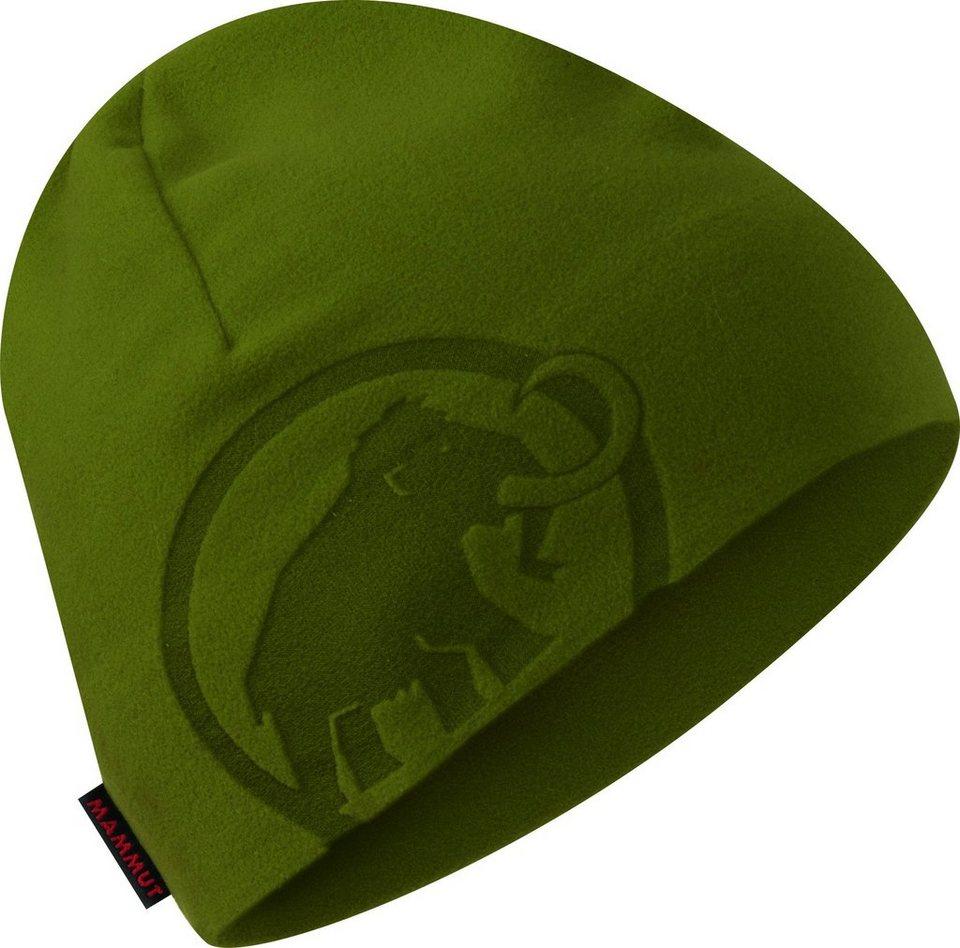 Mammut Hut »Fleece Beanie Unisex« in grün