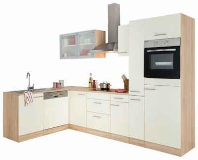 Großkmehlen Angebote OPTIFIT Winkelküche »Kalmar« mit E-Geräten, Stellbreite 300x175 cm