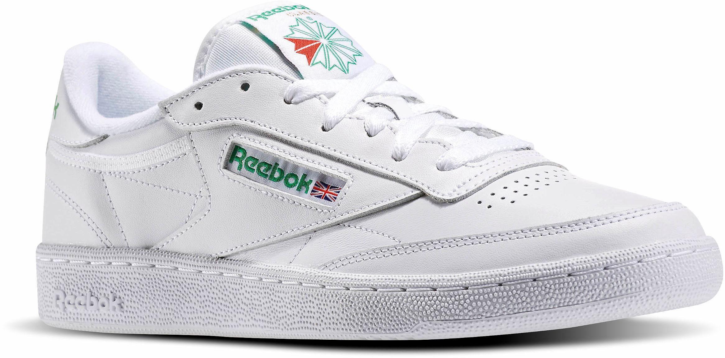 Reebok Classic Club C 85 Sneaker online kaufen  weiß-grün