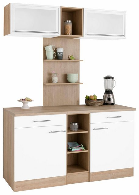 Vitrinen und Schränke - OPTIFIT Küchenbuffet »Kalmar«, Breite 150 cm  - Onlineshop OTTO