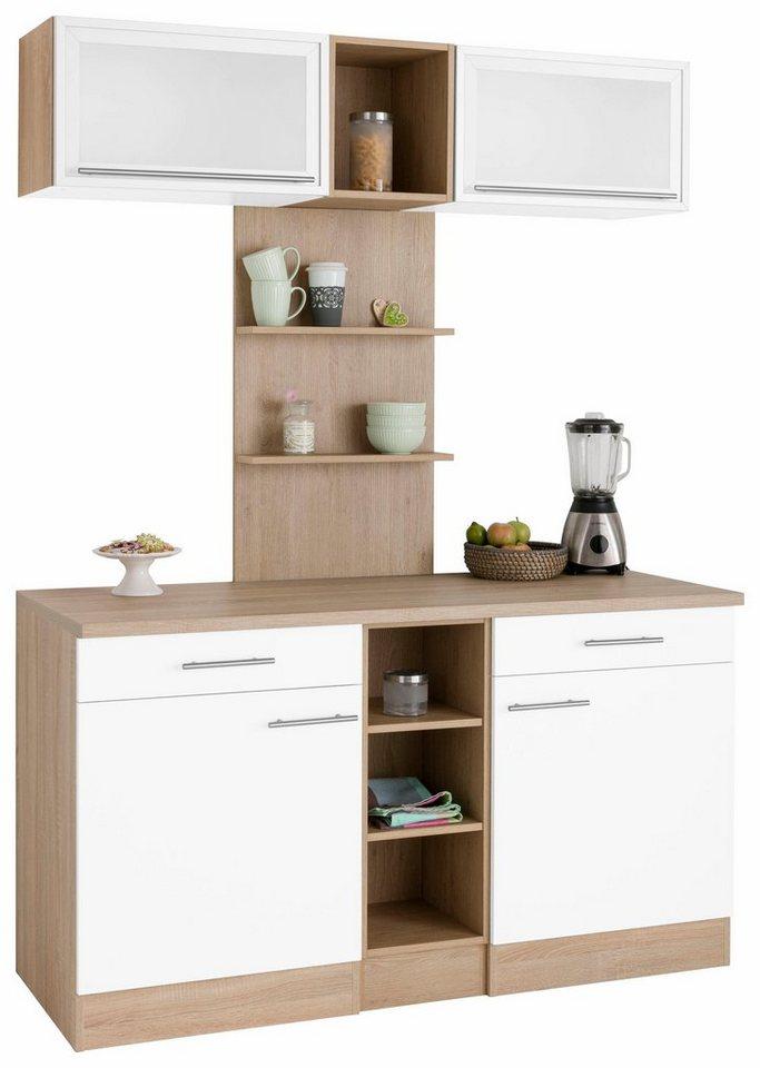 Optifit Küchenbuffet »Kalmar«, Breite 150 cm in weiß