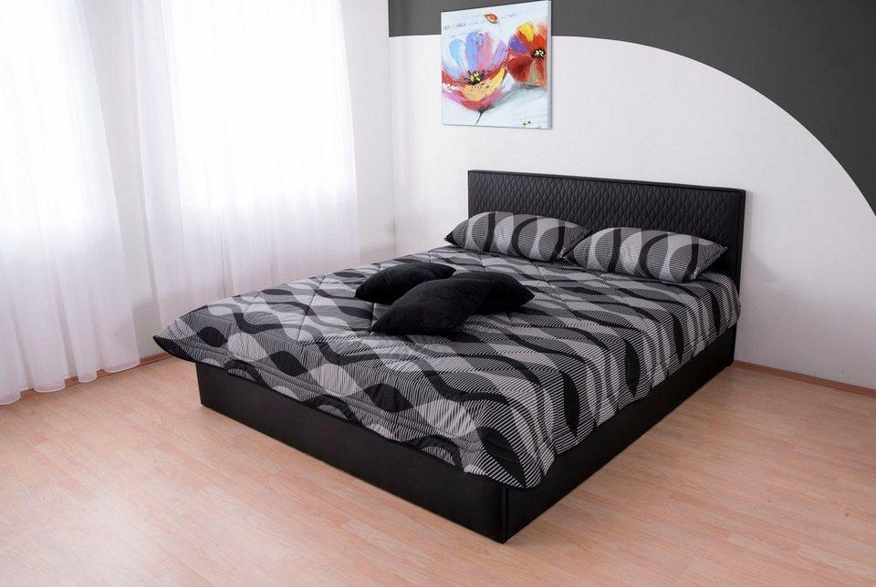 westfalia schlafkomfort polsterbett kunstlederbett online. Black Bedroom Furniture Sets. Home Design Ideas