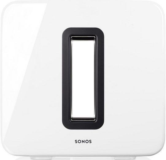 Sonos Sub WLAN - Subwoofer (WLAN (WiFi), LAN (Ethernet), für Sonos Speaker)