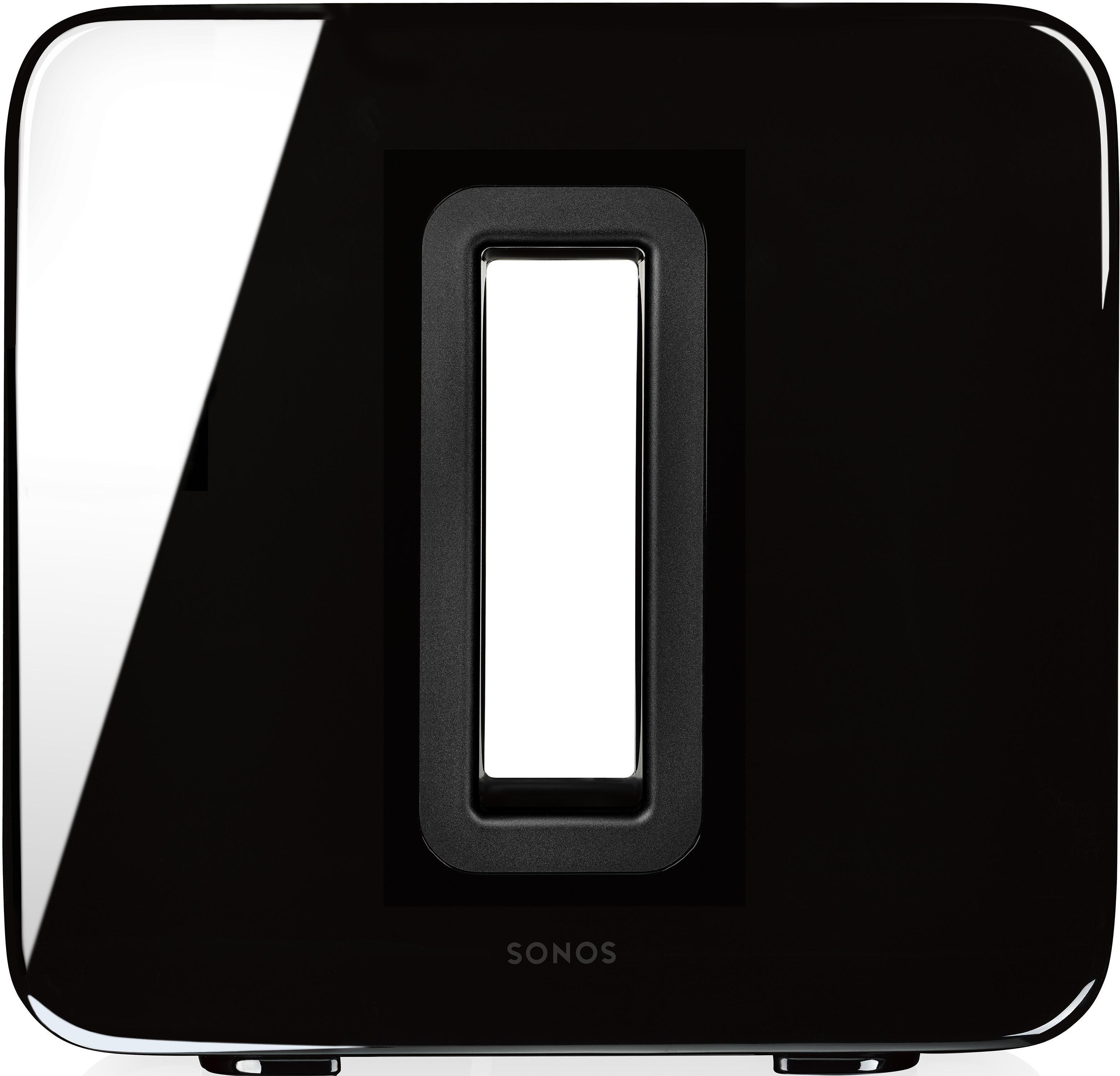 Sub Subwoofer (WLAN (WiFi), LAN (Ethernet), Multiroom, Multiroom, Dual-Akustikports)