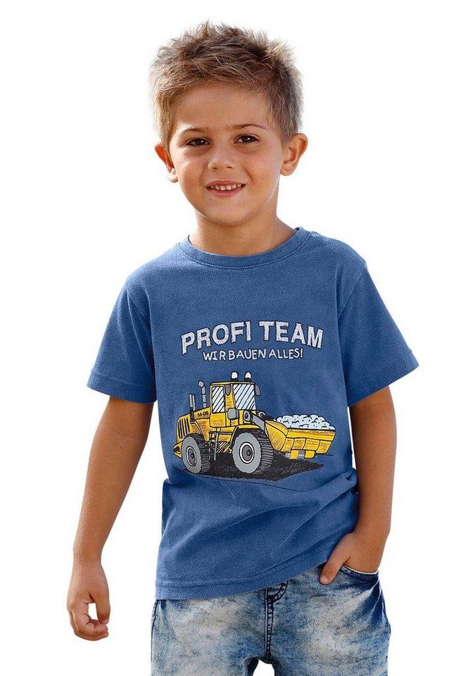 KIDSWORLD T-Shirt in royalblau