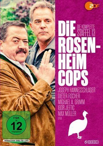 DVD »Die Rosenheim-Cops - Die komplette 13. Staffel...«