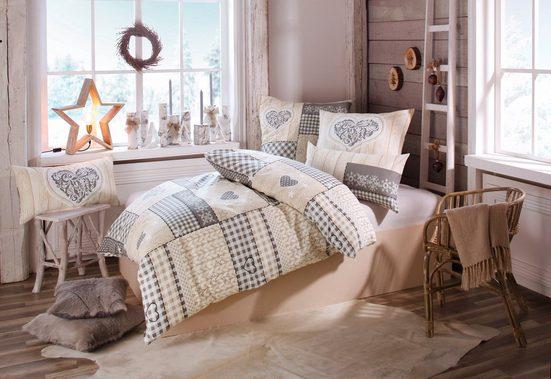 Bettwäsche »Janina«, Home affaire Collection, im Patchwork-Design
